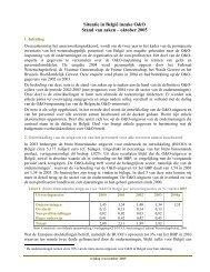 Samenvattend document Belgische O&O-inspanning - Federaal ...