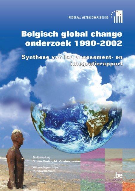 Belgisch global change onderzoek 1990-2002 - Federaal ...