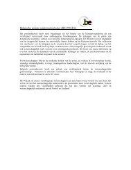 Belgische polaire onderzoekscluster (BE-POLES) - Federaal ...