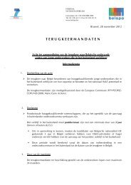 Nederlands - Federaal Wetenschapsbeleid