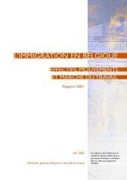 l'immigration en Belgique