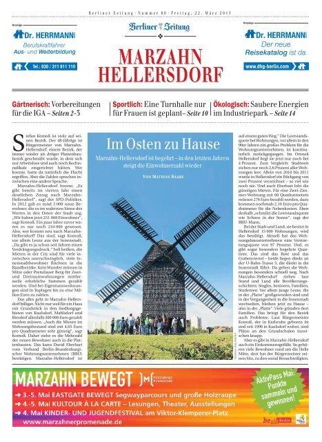 MARZAHN HELLERSDORF - Berliner Zeitung