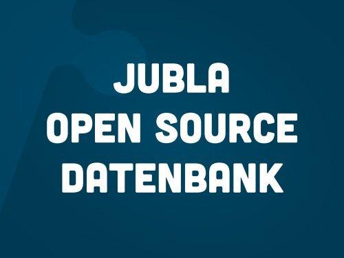 Wieso Open Source? - Berner Architekten Treffen