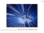 Sony Center am Potsdamer Platz - Berlin Locations