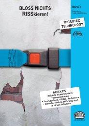 ARDEX F 5 Faserarmierte Fassadenspachtelmasse