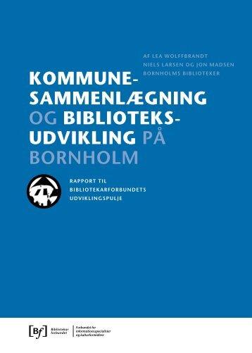Kommunesammenlægning og biblioteksudvikling på Bornholm