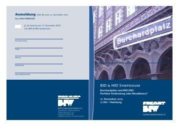 BFW Einladung BID-HID 17.11.2010_08.11.10 - BfW Nord