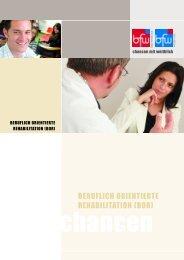 BERUFLICH ORIENTIERTE REHABILITATION (BOR) - BFW Bad ...