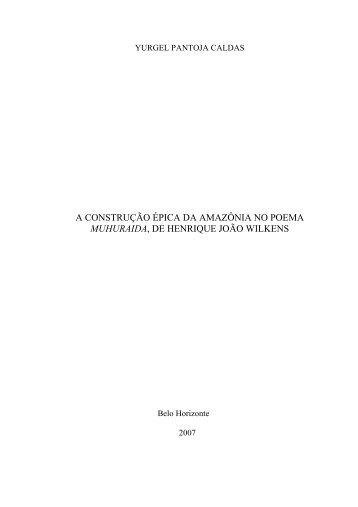 muhuraida - Biblioteca Digital de Teses e Dissertações da UFMG ...