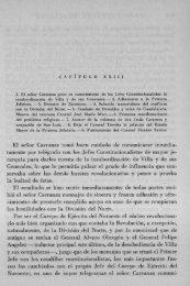 El señor Carranza tomO huen cuidado de ... - Bicentenario