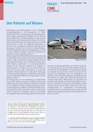 Der Patient auf Reisen - Berner Institut für Hausarztmedizin BIHAM ...