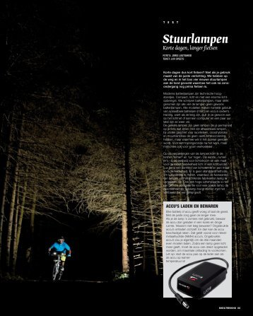 test batterijlampen-bt5 - BIKE & trekking