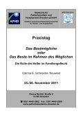 Veranstalter und Ansprechpartner: Dr. phil. Ingrid-Ulrike Grom M.A. ... - Page 2