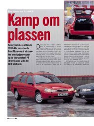 Ford Mondeo Mistral 2.0 - BilNorge.no