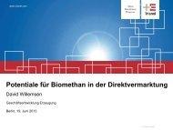 David Willemsen, Trianel GmbH - Biogaspartner