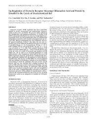 Up-Regulation of Oxytocin Receptor Messenger Ribonucleic Acid ...