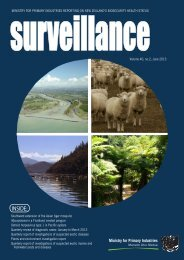Volume 40, no. 2, June 2013 - Biosecurity New Zealand
