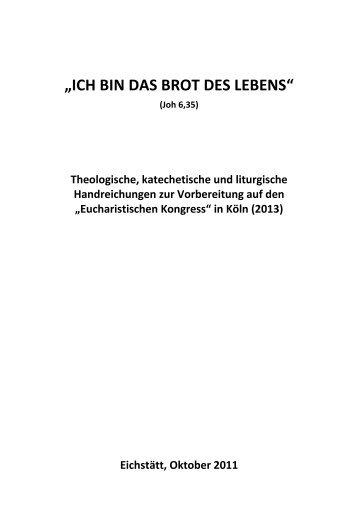 Handreichung - Bistum Eichstätt