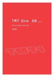 TMT One AB(publ) - Finansiella rapporter