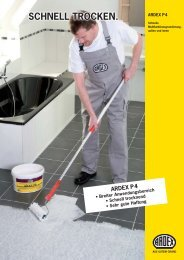 ARDEX P4 Schnelle Multifunktions