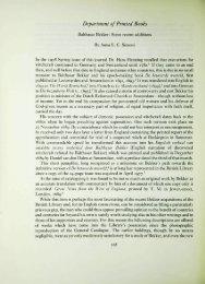 Department of Printed Books Balthasar Bekker ... - British Library