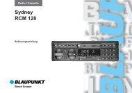 Sydney RCM128 d. - Blaupunkt