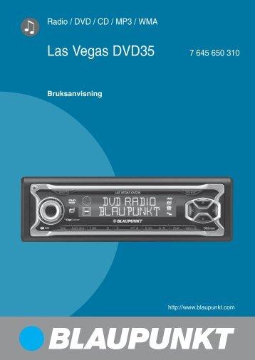 Las Vegas DVD35 7 645 650 310 - Blaupunkt