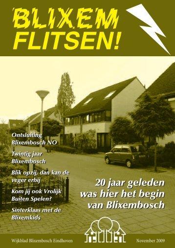 20 jaar geleden was hier het begin van Blixembosch 20 jaar ...