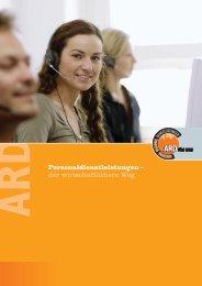 Personaldienstleistungen – der wirtschaftlichere ... - ARD Förg GmbH