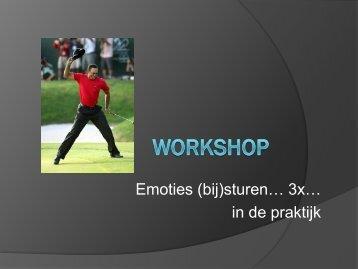 praktijkgerichte tips via een workshop - Bloso