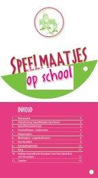 Download de brochure SpeelMaatjes Op School - Bloso