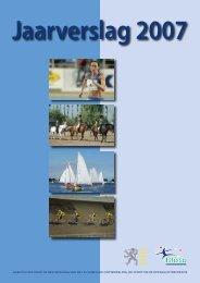 Jaarverslag 2007 - Bloso