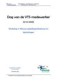 Dag van de VTS-medewerker - Bloso