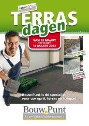 Bouw.Punt is dé specialist voor uw oprit, terras en tuinpad ...