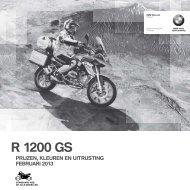 Prijslijst R 1200 GS (PDF, 1343 KB) - BMW Nederland