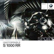 Brochure S 1000 RR (PDF, 3298 KB)