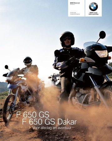 Brochure F 650 GS F 650 GS Dakar (PDF, 1,5 MB)