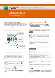 Digipass DP550 - BNP Paribas Fortis