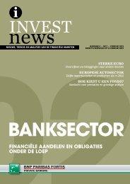 financiële aandelen en obligaties onder de loep - BNP Paribas Fortis