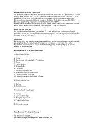 Informations relatives Fortis Banque - BNP Paribas Fortis