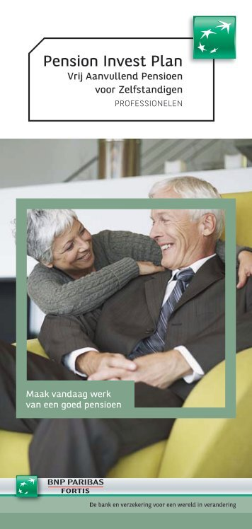 Pension Invest Plan - VAPZ brochure (pdf) - BNP Paribas Fortis