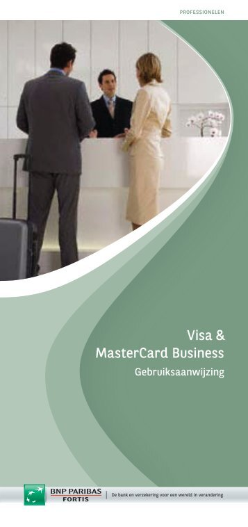 Brochure Visa and MasterCard Business - BNP Paribas Fortis