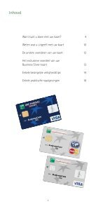 Brochure Visa and MasterCard Business - BNP Paribas Fortis - Page 3