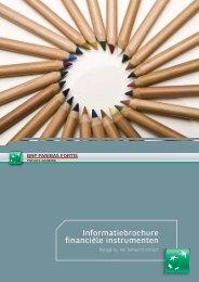 Informatiebrochure financiële instrumenten - BNP Paribas Fortis