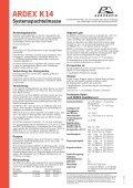 ARDEX K14 Systemspachtelmasse - Seite 2