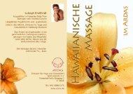 Hawaiianische massage fuer frauen - ARDAS