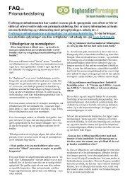 FAQ Ofte stillede spørgsmål 2011 - Boghandlerforeningen
