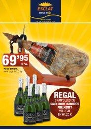 6 ampolles de cava brut barroco freixenet valorat en 64,20 - Bon Preu