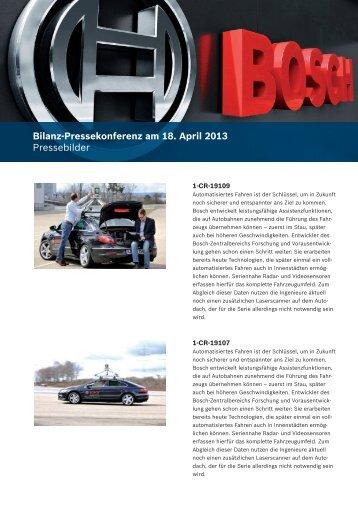 Bildübersicht - Bosch Media Service
