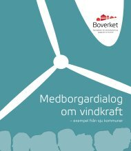 Medborgardialog om vindkraft – exempel från sju ... - Boverket